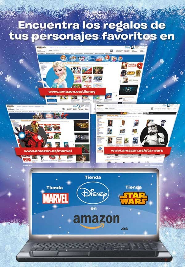 tienda amazon marvel disney y starwars